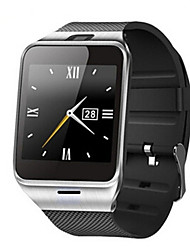 Per uomo Smart watch Digitale Touchscreen Calendario Resistente all'acqua Velocimetro Pedometro Cronometro Comunicazione Tachimetro Gomma