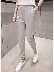 firmare i pantaloni wei pantaloni femminili dei pantaloni casuali di sport dei pantaloni allentati primaverili e autunnali polsini