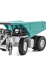 Недорогие -Самосвал Игрушечные грузовики и строительная техника Игрушечные машинки 1:75 Металлические Универсальные Детские Игрушки Подарок