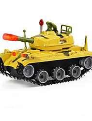 Недорогие -Игрушечные машинки Игрушки Строительная техника Военная техника Игрушки Электрический Танк Куски Детские Мальчики Подарок