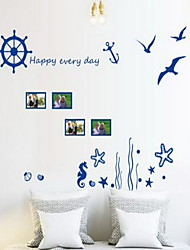 cheap -Landscape Wall Stickers Plane Wall Stickers Photo Stickers, Vinyl Home Decoration Wall Decal Wall