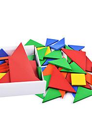 Недорогие -Конструкторы Для получения подарка Конструкторы Модели и конструкторы Квадратная Треугольник Игрушки