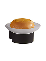 cheap -Soap Dishes & Holders Modern Zinc Alloy black Rubber painting