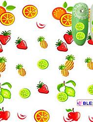 5pcs/set Nail Art Sticker  Water Transfer Sticker Makeup Cosmetic Nail Art Design