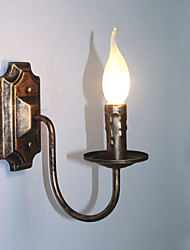 cheap -Antique Wall Lamp Candle Shape Simple Corridor Balcony Lamp Wall Lamp