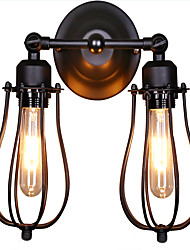 cheap -Rustic/Lodge Traditional/Classic Country Wall Lamps & Sconces For Metal Wall Light 110-120V 220-240V 50W