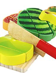 Tue so als ob du spielst Bausteine Bildungsspielsachen Spielzeuge LKW Gemüse friut Simulation Kinder 200 Stücke