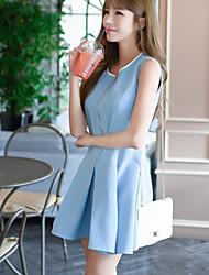 Véritable coup d'étonnement star star tempérament petite version tutu korean du slim était maillot de robe mince