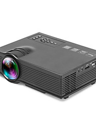 cheap -UNIC UC40 LCD Home Theater Projector LED Projector 600 lm Support 1080P (1920x1080) 30-130 inch Screen / WVGA (800x480) / ±15°