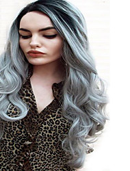 cheap -Synthetic Hair Wigs Straight Ombre Hair Capless Carnival Wig Halloween Wig Natural Wigs Long Black