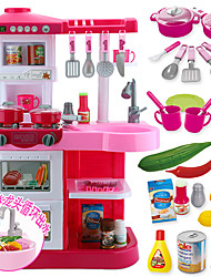 Pretend Play Toy Kitchen Sets Toy Dishes & Tea Sets Toy Foods Toys Circular Boys' Girls' Boys Pieces