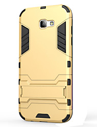 cheap -Case For Samsung Galaxy A5(2017) A3(2017) Shockproof with Stand Back Cover Armor Hard PC for A3(2017) A5(2017) A7(2017) A7(2016) A5(2016)