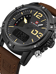 cheap -NAVIFORCE Men's Dress Watch Fashion Watch Wrist watch Bracelet Watch Unique Creative Watch Sport Watch Military Watch Digital Japanese