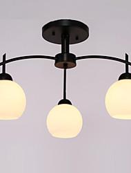 cheap -3-Light Flush Mount Ambient Light - Mini Style, 110-120V / 220-240V Bulb Not Included / 10-15㎡ / E26 / E27