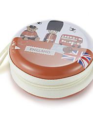 Недорогие -Fidget рука прядильщика палец мешок британский ветер металлический наушник универсальный случай