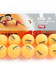 Недорогие -10 шт. 3 Звезд Ping Pang / Настольный теннис Бал пластик Низкое сопротивление ветру / Мощность / Эластичность