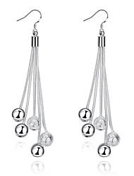 Dámské Visací náušnice Šperky Základní design Postříbřené Šperky Šperky Pro Svatební Párty Denní Ležérní