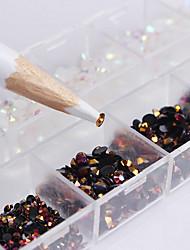 Недорогие -2500 pcs Дизайн ногтей Мода Повседневные