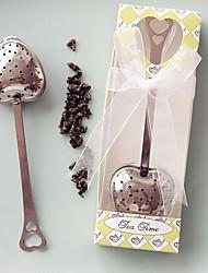 economico -il partito di tè dell'acciaio inossidabile del partito di tè favorisce il tema classico di cerimonia di cerimonia dei regali di beter del regalo