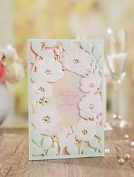 Format Enveloppe & Poche Invitations de mariage Autocollant d'enveloppe Programme Fan Menu de mariage Cartes d'invitation Merci Cartes