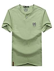Homme Tee-shirt de Randonnée Respirable Tee-shirt Hauts/Top pour Eté M L XL XXL XXXL