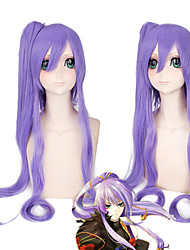VOCALOID Kamui Gakupo Gackpoid Cosplay Long Party Hair Wig 2 Clip Ponytails Heat Resistant