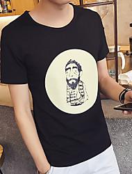 Greise Modelle schlank Kurzarm-T-Shirt Hemd grundiert Café platzen