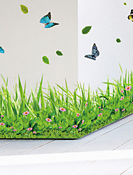 cheap -Animals Fashion Botanical Wall Stickers Plane Wall Stickers Decorative Wall Stickers, Vinyl Home Decoration Wall Decal Wall Glass/Bathroom