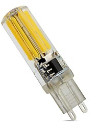 preiswerte -4W E14 G9 G4 LED Doppel-Pin Leuchten T 1 Leds COB Abblendbar Warmes Weiß Kühles Weiß 450lm 3000  6500K AC 220-240V