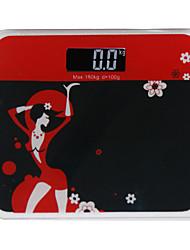 1 pc de nye søte mote vekter elektroniske vekter kroppsvekt