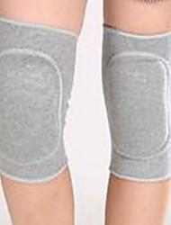 baratos -Joelheira para Fitness Dançando Infantil Respirável Amortecimento de vibrações Protecção Esportes Algodão seda latex 1 par