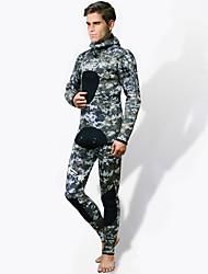 economico -HISEA® Per uomo Pantaloni muta Tenere al caldo Anti-radioazioni Scafandro Calze/Collant/Cosciali Scafandri-Pesca ImmersioniPrimavera
