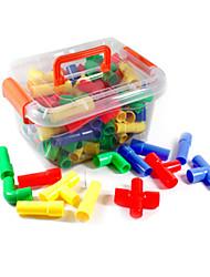 Bausteine Bildungsspielsachen Spielzeuge Spielzeuge 70 Stücke Unisex Geschenk