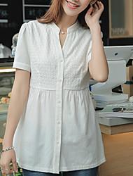 tir réel en été 2017 nouvelle section longue robe théâtrale blouse à franges creuse t-shirt décontracté