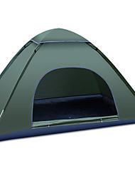 Недорогие -GAZELLE OUTDOORS 3-4 человека Световой тент Один экземляр Палатка Однокомнатная Автоматический тент Водонепроницаемость С защитой от