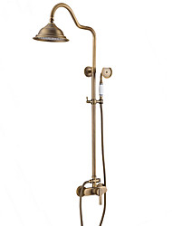 cheap -Shower Faucet - Antique Modern Country Antique Copper Shower Only Ceramic Valve