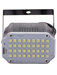 cheap -U'king Mini Sound Control 36Pcs White LEDs Room Strobe Spotlight Stage Lighting for Disco Party DJ Light Home Entertainment Music Show Projector