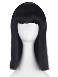 cheap -Synthetic Medium Long Straight BOB Hair for Women Girl Multi-colors Cosplay Costume Party Wig Halloween