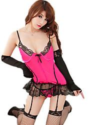 Ladies Fashion Sexy Temptation Lace Jacquard Pajamas