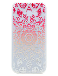 cheap -For Samsung Galaxy A3(2017) A5(2017) Lace Printing Pattern Soft TPU Material Phone Case
