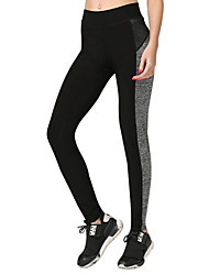 Women's Running Tights Gym Leggings Breathable Soft smooth Compression Bottoms for Yoga Exercise & Fitness Running Polyester Slim M L XL