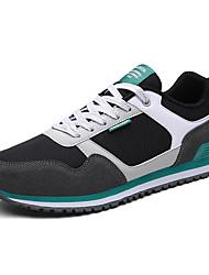 Männer athletische Schuhe Frühjahr Sommer Komfort Stoff Tüll Büro& Karriere athletisch casual Split Gelenk Lace-up läuft