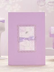 Cartão Raso Convites de casamento-Envelope Etiqueta do envelope Fan programa O menu do casamento Cartões de convite Cartões de Obrigado