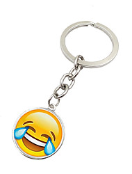 cheap -Key Chain Toys Key Chain Circular Metal 1 Pieces Not Specified Christmas Birthday Valentine's Day Gift