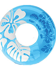 Inflatable Pool Float Donut Pool Float Swim Rings Toys Circular Flourescent Men's Women's Pieces