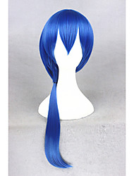Medium Long Blue The kingdom of Sleeping and 100 princes/Seyi 26inch Anime Cosplay Wigs CS-273E