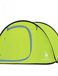 3-4 persone Singolo Tenda da campeggio Una camera Pop up tenda per Escursionismo Campeggio Viaggi CM
