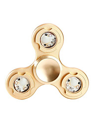 Fidget Spinner Hand Spinner Toys Tri-Spinner Metal Aluminium EDCLED light Stress and Anxiety Relief Office Desk Toys Relieves ADD, ADHD,