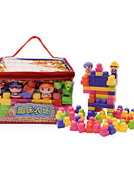 cheap -Building Blocks Educational Toy Toys Toys Large Size Thick Kids Unisex 88 Pieces