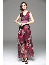 2016 New Bohemia put on a large chiffon dress long section